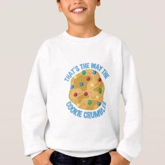 クッキーの砕片 スウェットシャツ