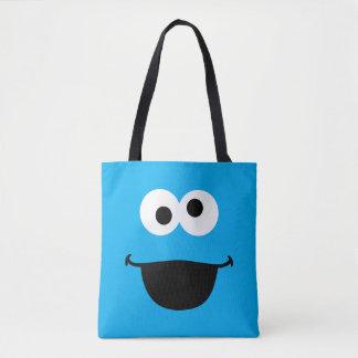 クッキーの顔の芸術 トートバッグ