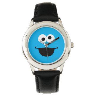 クッキーの顔の芸術 腕時計