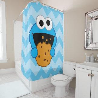 クッキーの顔 シャワーカーテン