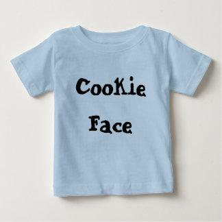 クッキーの顔 ベビーTシャツ