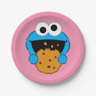 クッキーの顔 ペーパープレート