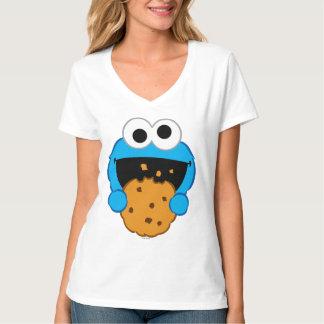クッキーの顔 Tシャツ