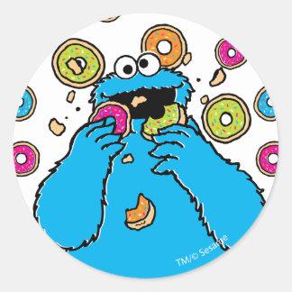 クッキーのMonsterDonutの破壊者 丸型シール