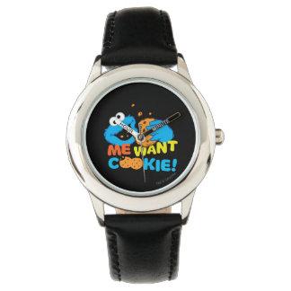 クッキーはクッキーがほしいと思います 腕時計