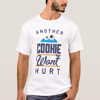 クッキーは傷つきません Tシャツ