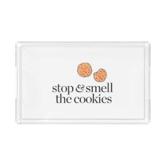 クッキーをストップ及びかいで下さい アクリルトレー