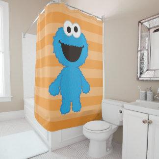 クッキーモンスターのウールのスタイル シャワーカーテン