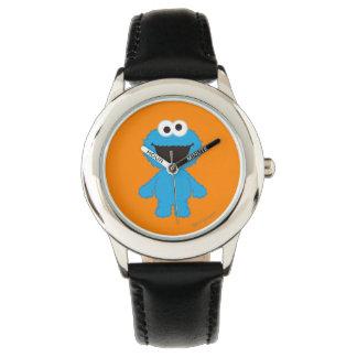 クッキーモンスターのウールのスタイル 腕時計