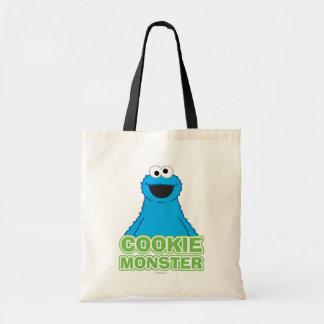 クッキーモンスターのキャラクターの芸術 トートバッグ