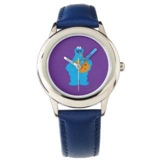 クッキーモンスターのグラフィック 腕時計