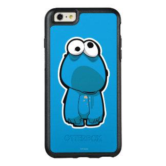 クッキーモンスターのゾンビ オッターボックスiPhone 6/6S PLUSケース