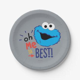 クッキーモンスターのベスト ペーパープレート