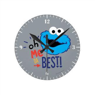 クッキーモンスターのベスト ラウンド壁時計