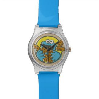 クッキーモンスターのレトロ 腕時計