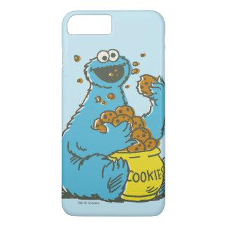 クッキーモンスターのヴィンテージ iPhone 7 PLUSケース