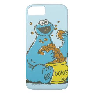 クッキーモンスターのヴィンテージ iPhone 8/7ケース
