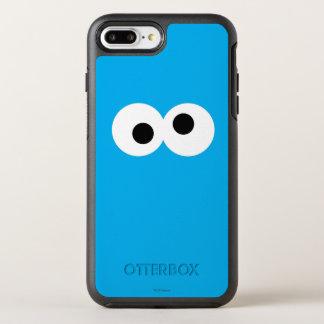 クッキーモンスターの大きい顔 オッターボックスシンメトリーiPhone 7 PLUSケース