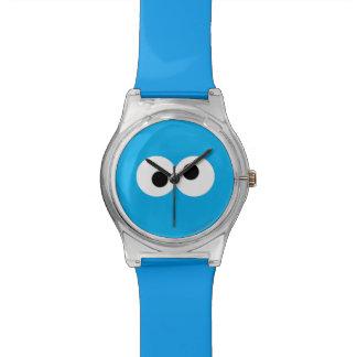 クッキーモンスターの大きい顔 腕時計