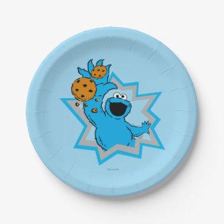 クッキーモンスターの極端 ペーパープレート