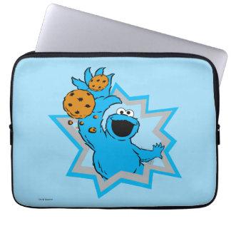 クッキーモンスターの極端 ラップトップスリーブ