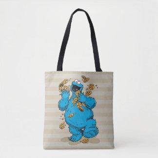 クッキーモンスターの熱狂するなクッキー トートバッグ