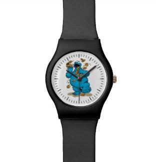 クッキーモンスターの熱狂するなクッキー 腕時計