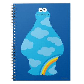 クッキーモンスターの虹 ノートブック