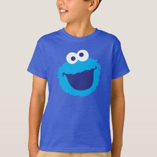 クッキーモンスターの顔 Tシャツ