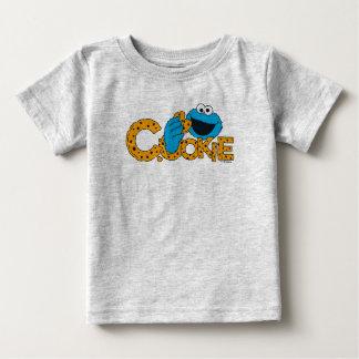 クッキーモンスター|のクッキー! ベビーTシャツ