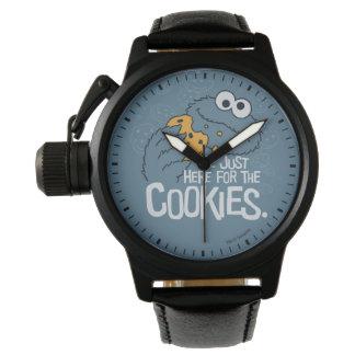 クッキーモンスター|私ちょうどここにクッキーのために 腕時計