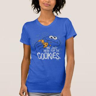 クッキーモンスター|私ちょうどここにクッキーのために Tシャツ