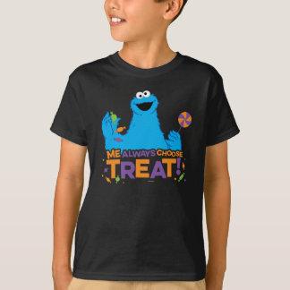 クッキーモンスター-私は御馳走を常に選びます Tシャツ