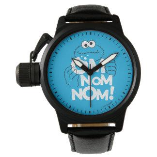 クッキーモンスター| Om Nom Nom! 腕時計