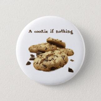 クッキー何も 5.7CM 丸型バッジ