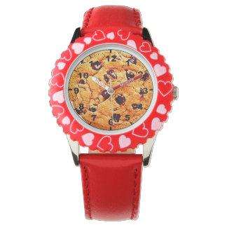 """""""クッキー""""のデザインの腕時計 腕時計"""