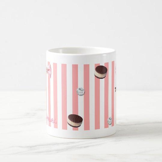 【クッキー×リボン】かずのり・るり コーヒーマグカップ
