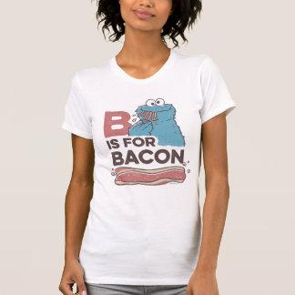 クッキーMonsterBはベーコン2のためです Tシャツ