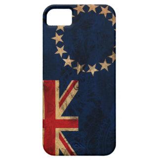 クック諸島の旗 iPhone SE/5/5s ケース