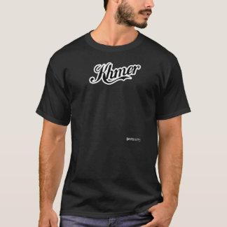 クメール王国-黒 Tシャツ