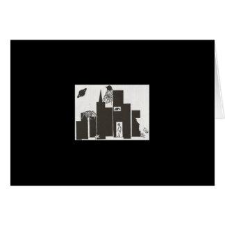 クモの巣都市芸術カード カード