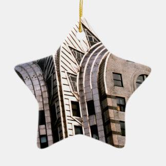 クライスラの建物: 眺めの上で閉めて下さい セラミックオーナメント