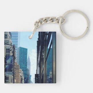 クライスラの建物、NYC キーホルダー