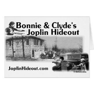 クライドのJoplinの魅力的な及び隠れ家 カード