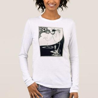 クライマックス、オスカーWiによる「Salome」からのイラストレーション 長袖Tシャツ