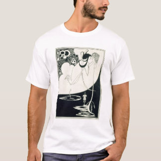 クライマックス、オスカーWiによる「Salome」からのイラストレーション Tシャツ