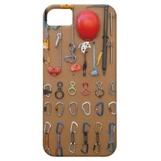 クライマーの装置 -- 山の登山のギア iPhone 5 カバー