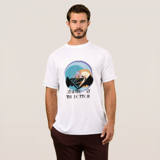 クライマーの運動ワイシャツ Tシャツ