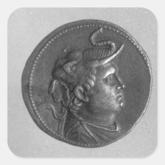 クラウディオス・プトレマイオスが鋳造する硬貨I スクエアシール