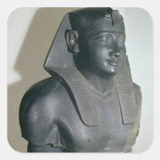 クラウディオス・プトレマイオスのエジプトのスタイルの彫像の片I スクエアシール